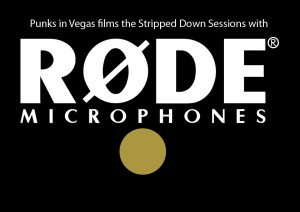 rode logo inverse2 300x212 Stripped Down Session: With the Punches (two songs)