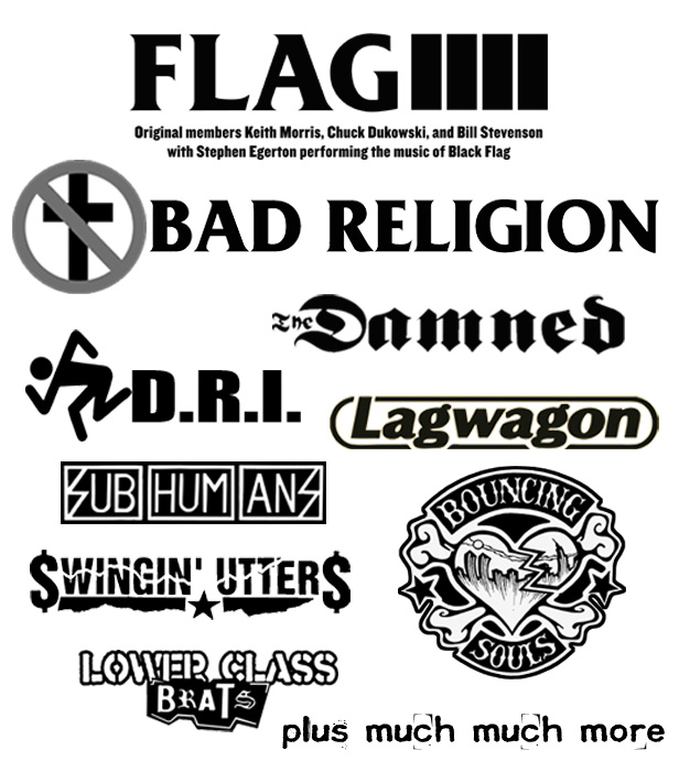 prb 2013 poster The Flag, Bad Religion, more announced for Punk Rock Bowling 2013, May 25 27 in downtown Las Vegas