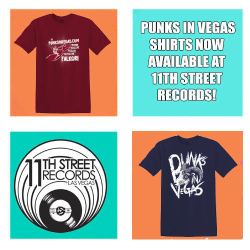 punks in vegas shirts