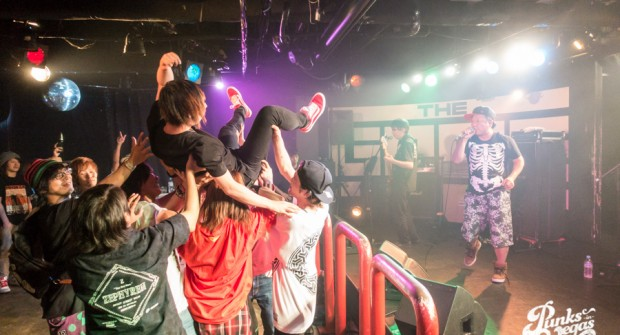 Images: One's Truth, Take Mind's Place, Nicotine, Just Chronicle, Across The Universe July 1, 2016 at theGAME (Shibuya, Tokyo, Japan)