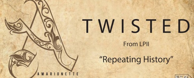 "Amarionette release ""Twisted,"" new album out August 12"