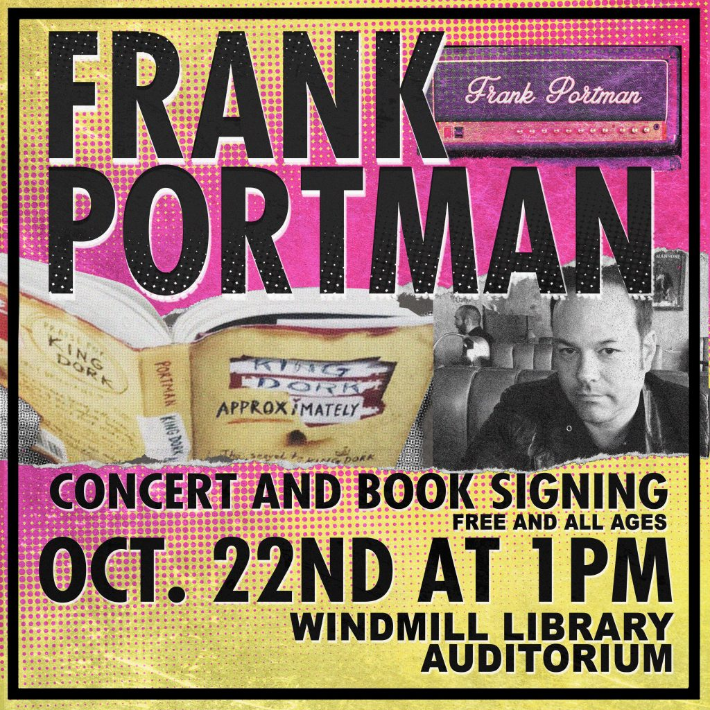 Frank Portman concert and signing