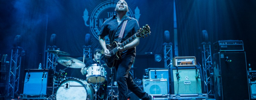 Images: Bayside, The Menzingers, Sorority Noise September 9, 2016 at the Brooklyn Bowl