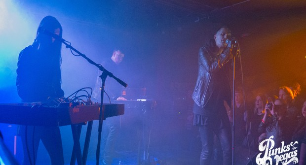 Images: Cold Cave, Drab Majesty, DJ Allen January 12, 2017 at the Bunkhouse Saloon