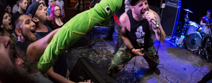 Images: A Wilhelm Scream, Runaway Kids, TheCore. March 19, 2017 at The Bunkhouse Saloon