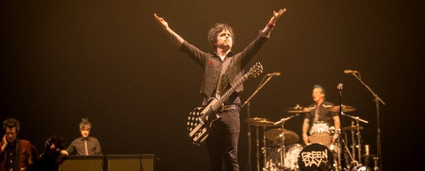 Images: Green Day, Against Me! April 7, 2017 at the MGM Grand Garden Arena