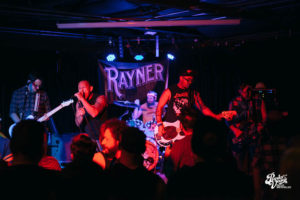 Images: Rayner, Problem Daughter, End of Pipe, Light 'Em Up April 14, 2017 at The Bunkhouse Saloon