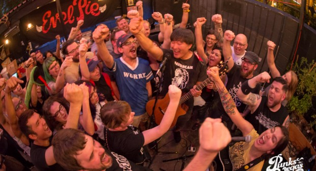 Images: Punks in Vegas 6 Year Bash feat. Mike Park, Maura Weaver, No Red Alice, Rayner June 24, 2017 at Evil Pie