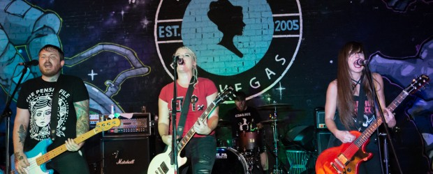 Images: The Bombpops, The Fuck Off And Dies, Crimson Riot August 3, 2017 at the Beauty Bar